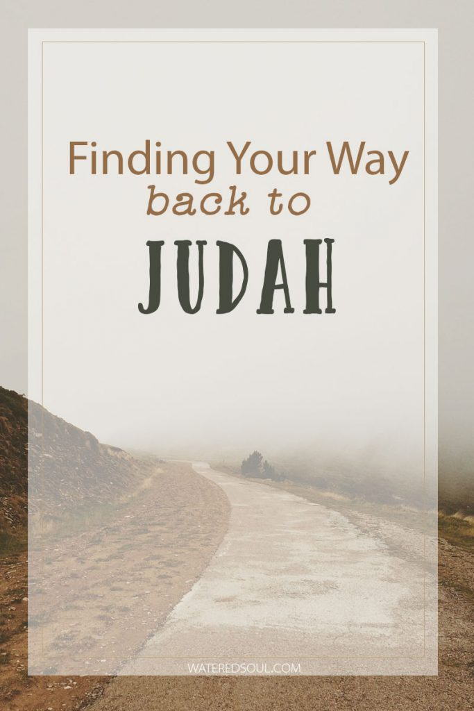 Finding Your Back to Judah