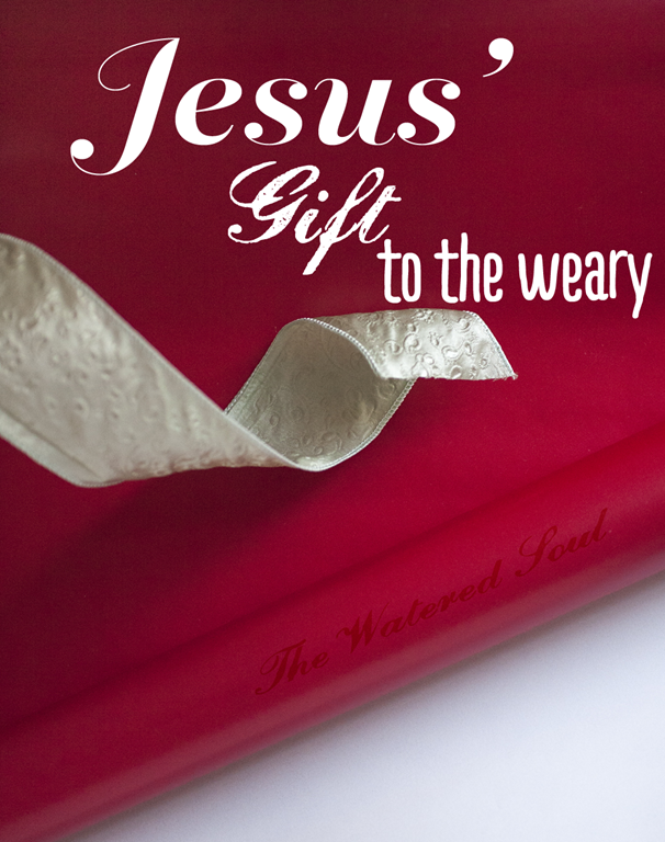 Jesus Gift to the Weary | The Watered Soul