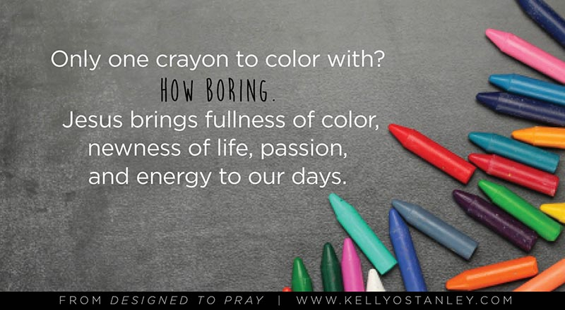 Designed to Pray Quote Graphic