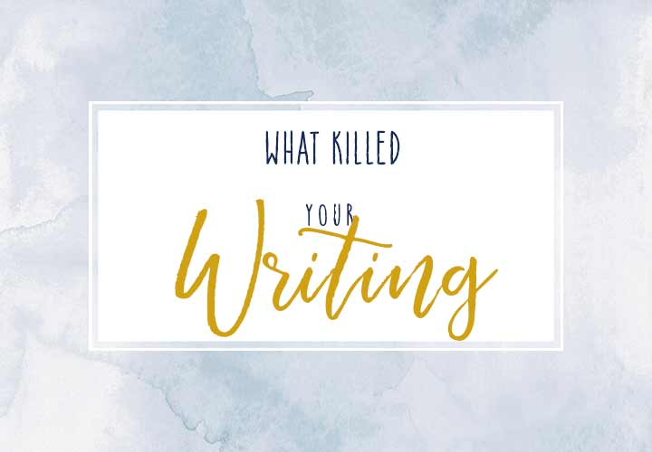 The Killers of Writing Joy
